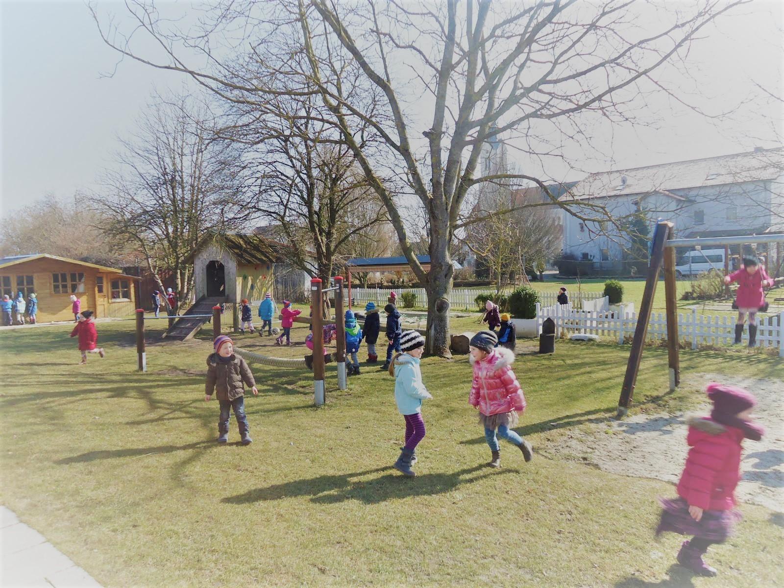 Hintergrundbild Kindergarten